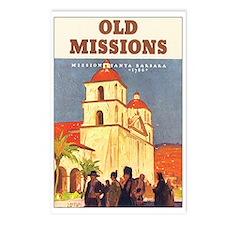 Santa Barbara California Postcards (Package of 8)
