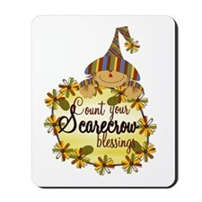 Scarecrow Blessings Mousepad