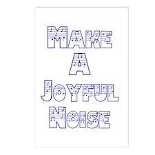joyful noise Postcards (Package of 8)