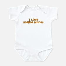 I Love Horror Movies Infant Bodysuit