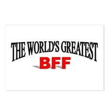 """The World's Greatest BFF"" Postcards (Package of 8"