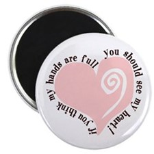 """Cute Family 2.25"""" Magnet (100 pack)"""