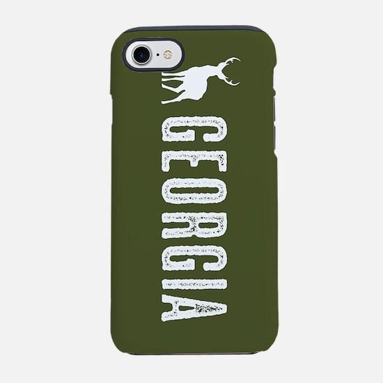 Deer: Georgia iPhone 8/7 Tough Case