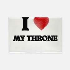 I love My Throne Magnets