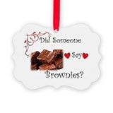 Did someone say brownies Picture Frame Ornaments