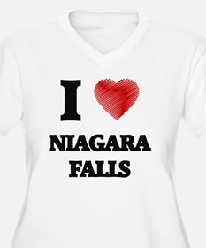 I love Niagara Falls Plus Size T-Shirt