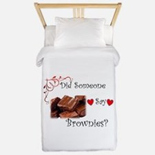 Did Someone Say Brownie? Twin Duvet