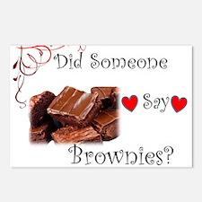 Did Someone Say Brownie? Postcards (Package of 8)