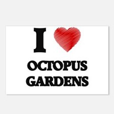 I love Octopus Gardens Postcards (Package of 8)