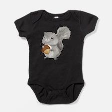Cute Squirrel Baby Bodysuit