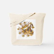 Scarecrow Wreath Tote Bag