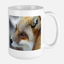 Red fox Large Mug - red fox