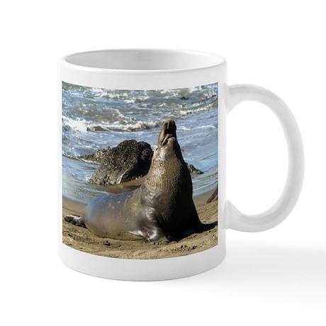 Elephant seal Mug - Northern Elephant Seal