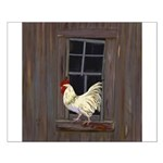 Rooster in the Window Posters