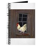 Rooster in the Window Journal