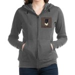 Rooster in the Window Women's Zip Hoodie