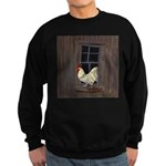 Rooster in the Window Sweatshirt