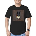 Rooster in the Window T-Shirt