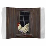 Rooster in the Window Pillow Sham