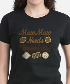 MawMaw Chocolate T-Shirt