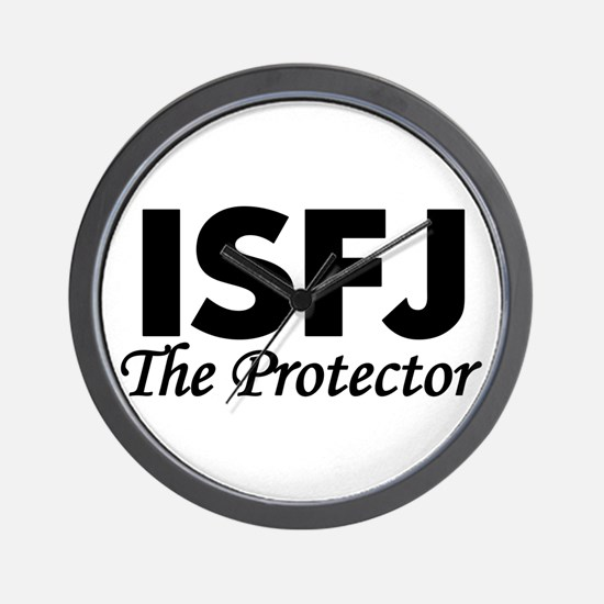 ISFJ | The Protector Wall Clock