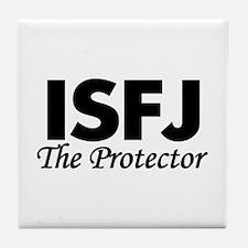 ISFJ | The Protector Tile Coaster