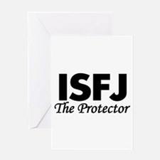 ISFJ   The Protector Greeting Cards