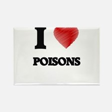 I love Poisons Magnets