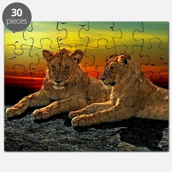 Cute Savanna Puzzle