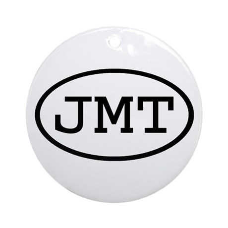 JMT Oval Ornament (Round)