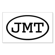 JMT Oval Rectangle Decal