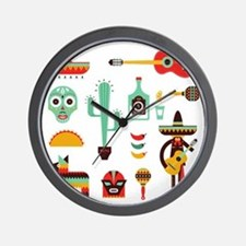 Cute Cinco de mayo Wall Clock