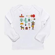 mexican Long Sleeve T-Shirt