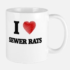 I love Sewer Rats Mugs