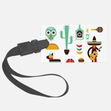 mexican Luggage Tag