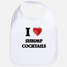 I love Shrimp Cocktails Bib