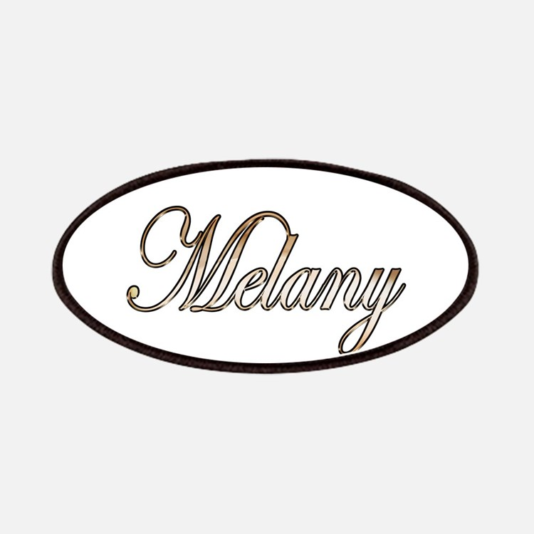 Gold Melany Patch