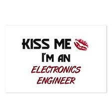 Kiss Me I'm a ELECTRONICS ENGINEER Postcards (Pack