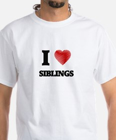 I love Siblings T-Shirt