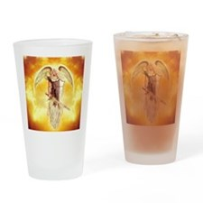 angel michael Drinking Glass