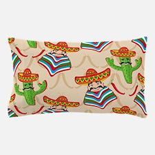 mexican cactus Pillow Case