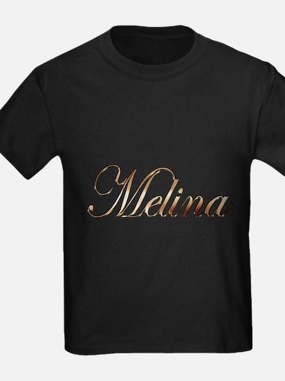 Gold Melina T-Shirt