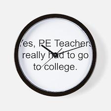 Cool Pe teacher Wall Clock