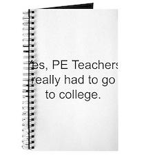 Phys ed teacher Journal