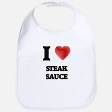 I love Steak Sauce Bib