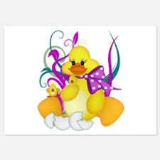 Oh my quackers - Invitations