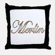 Unique Merlin Throw Pillow