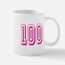 100 Pink Birthday Mug