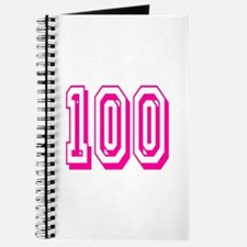 100 Pink Birthday Journal