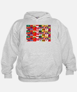 Asian Flags Hoodie